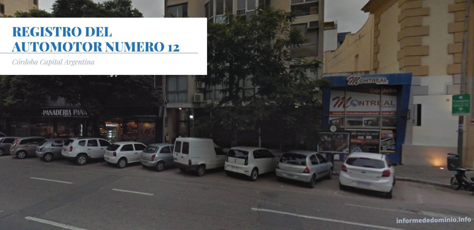 Registro Automotor Número 12 de Cordoba Capital