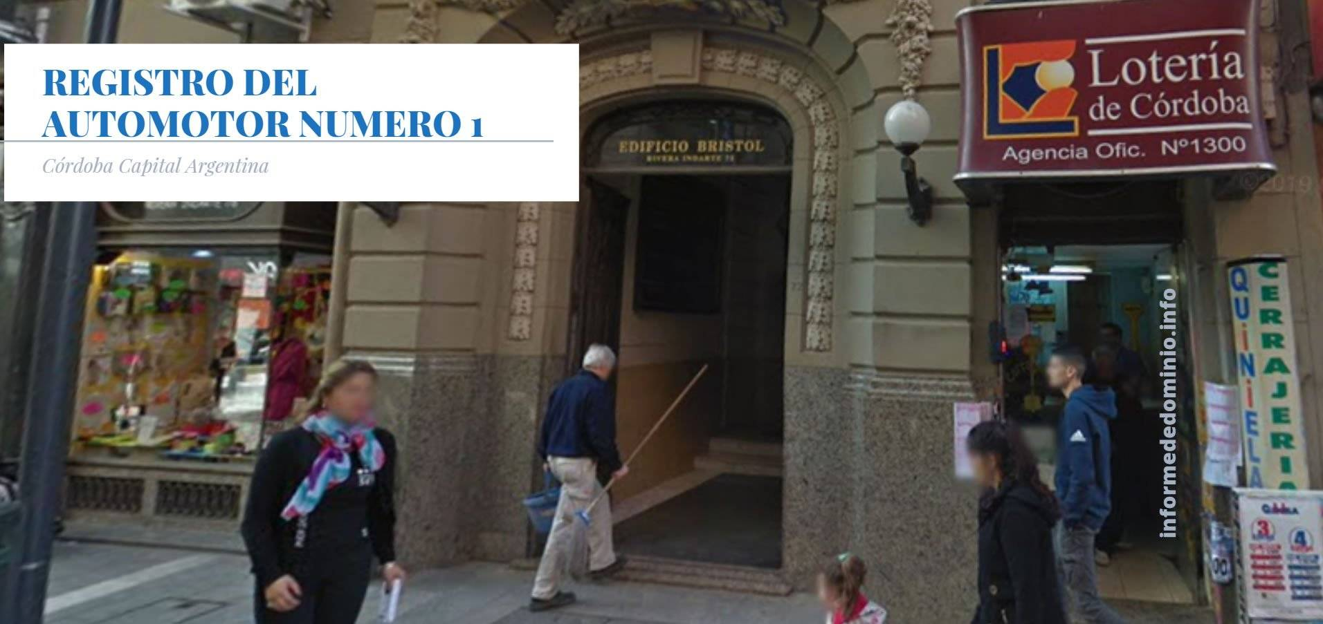 Registro Automotor Número 1 de Córdoba Capital