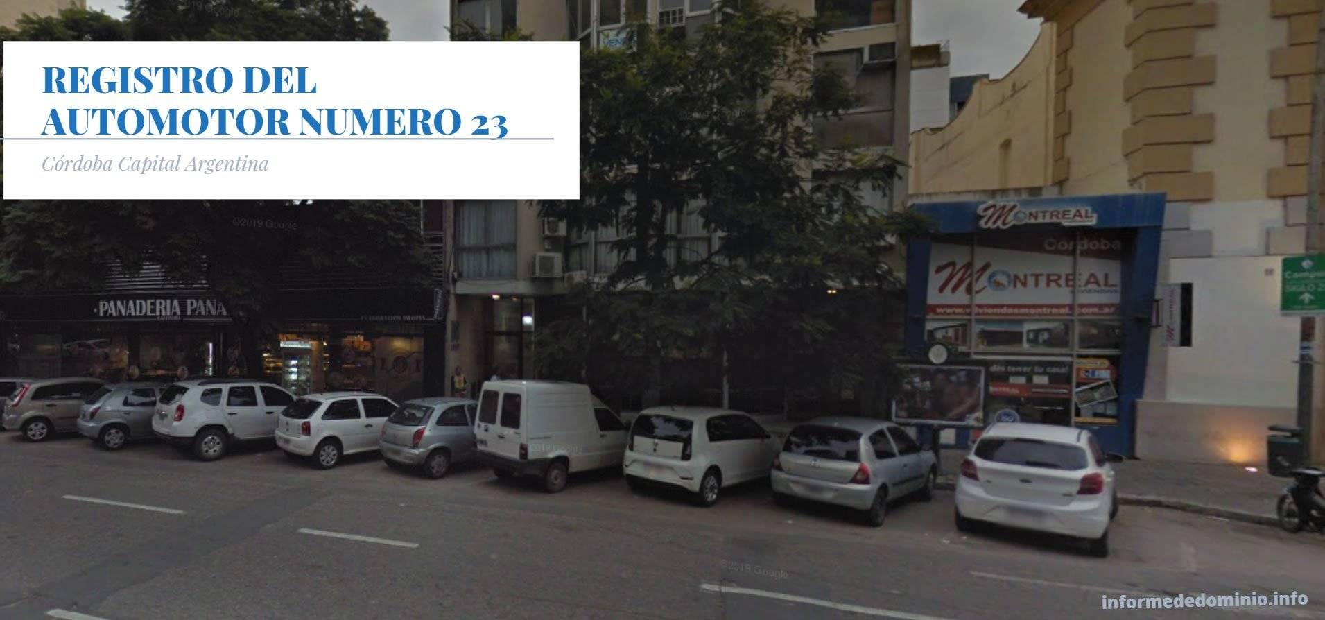 Registro Automotor Número 23 de Cordoba Capital