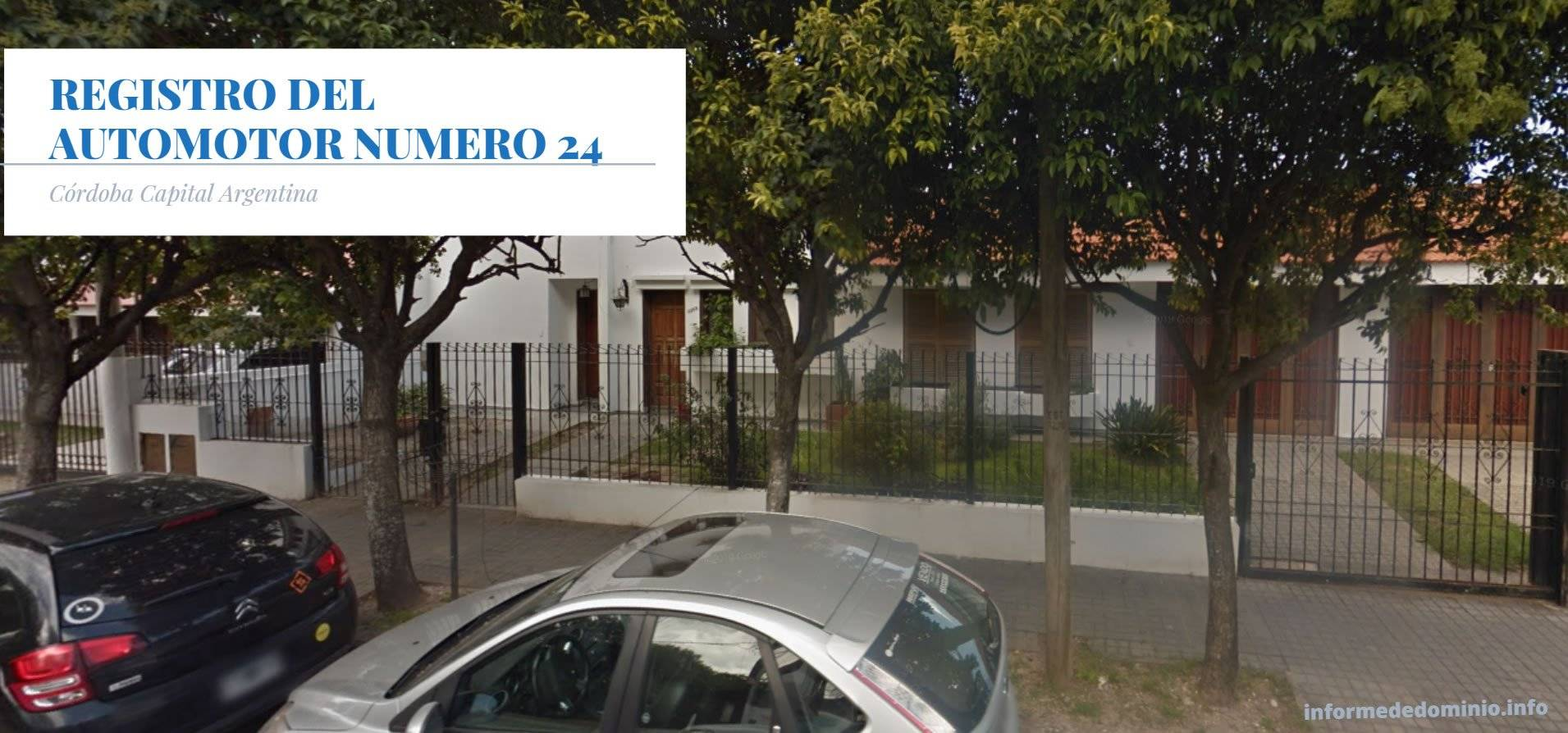 Registro Automotor Número 24 de Cordoba Capital