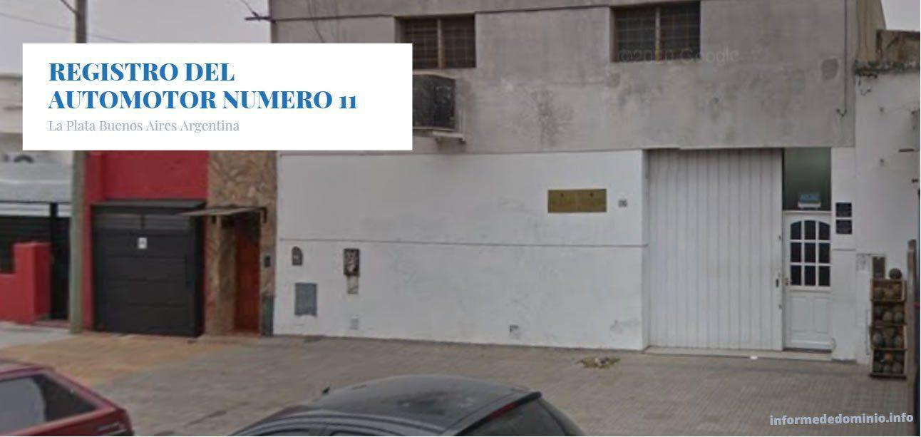 El Registro Número 11 de La Plata se encuentra Calle 5 1785