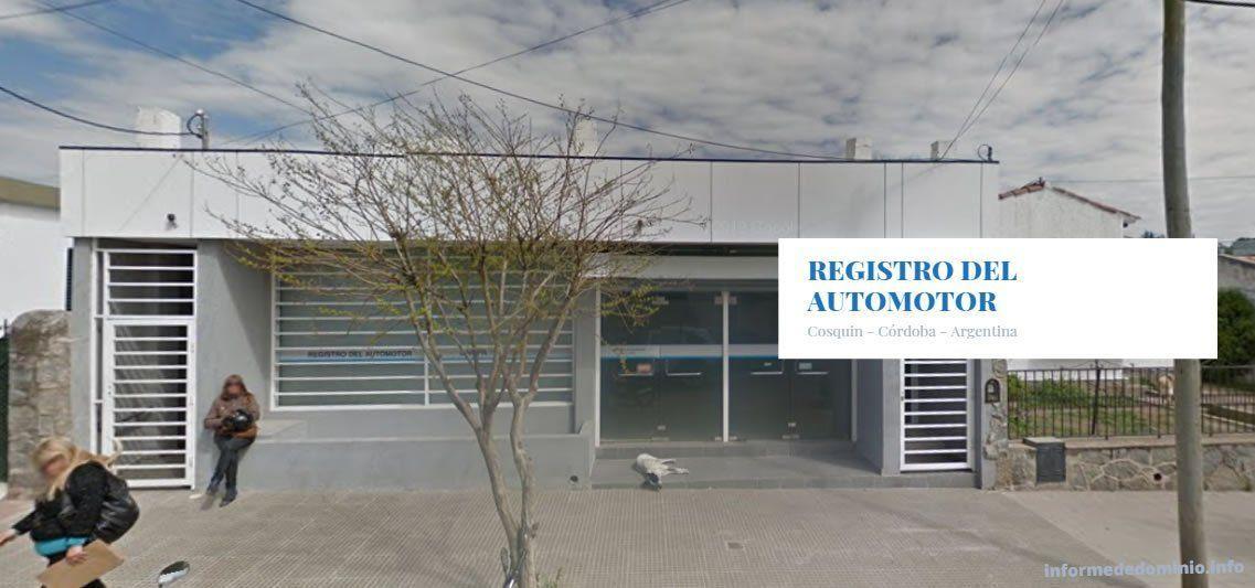 Registro del Automotor Cosquín