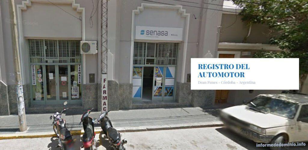 Registro del Automotor Deán Funes