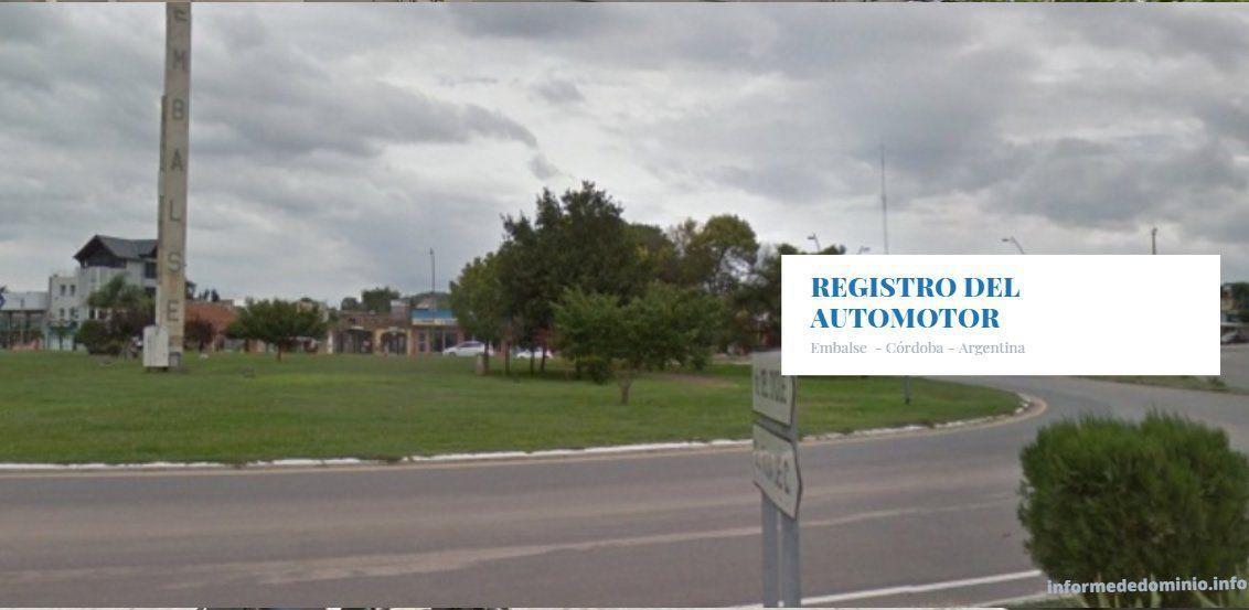 Registro del Automotor Embalse