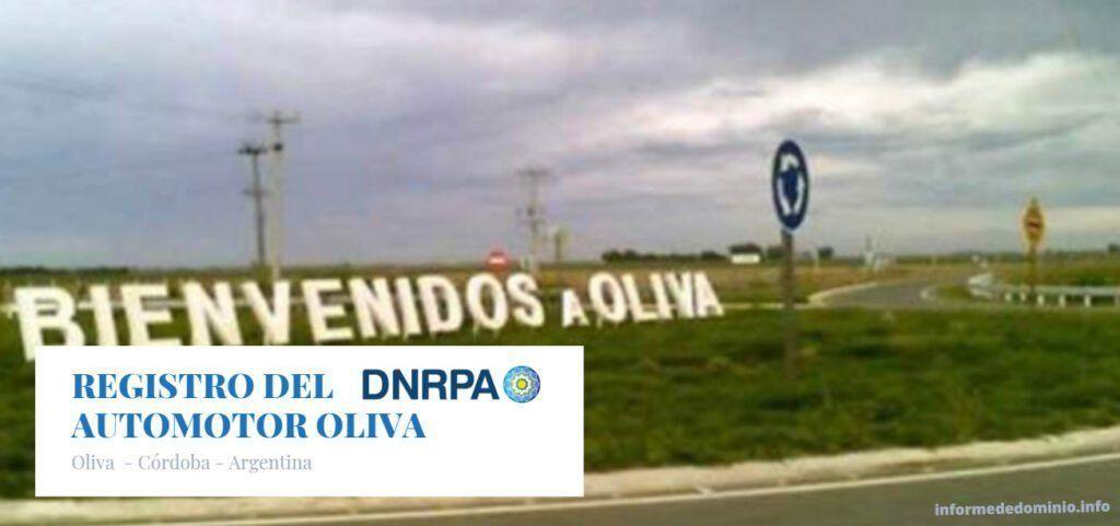 Registro del Automotor Oliva